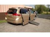 2012 Sandy Beach Metallic Toyota Sienna LE #115838723