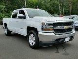 2016 Summit White Chevrolet Silverado 1500 LT Crew Cab 4x4 #115838253
