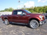 2016 Bronze Fire Ford F150 Lariat SuperCab 4x4 #115838314