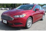 2017 Ruby Red Ford Fusion SE #115838656