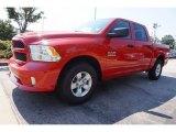 2017 Flame Red Ram 1500 Express Quad Cab #115838362