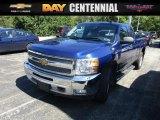2013 Blue Ray Metallic Chevrolet Silverado 1500 LT Extended Cab 4x4 #115838301