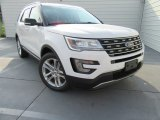 2017 Oxford White Ford Explorer XLT #115838427