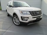 2017 White Platinum Ford Explorer XLT #115838425