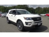 2017 White Platinum Ford Explorer Sport 4WD #115838685