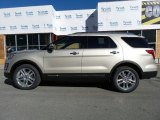 2017 White Gold Ford Explorer Limited 4WD #115838403