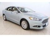 2013 Ice Storm Metallic Ford Fusion Hybrid SE #115868554