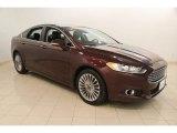 2013 Bordeaux Reserve Red Metallic Ford Fusion Titanium #115868553