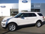 2017 Oxford White Ford Explorer XLT 4WD #115868605