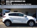 2017 Clear White Kia Sportage LX AWD #115868312