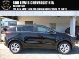 2017 Black Cherry Kia Sportage LX AWD #115868311