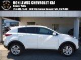 2017 Clear White Kia Sportage LX AWD #115868309
