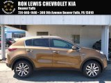 2017 Burnished Copper Kia Sportage EX AWD #115868308