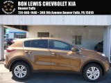 2017 Burnished Copper Kia Sportage LX AWD #115868306