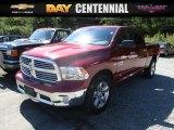 2014 Deep Cherry Red Crystal Pearl Ram 1500 SLT Crew Cab 4x4 #115895856