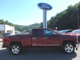 2014 Deep Ruby Metallic Chevrolet Silverado 1500 LTZ Double Cab 4x4 #115895983