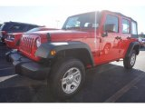 2016 Firecracker Red Jeep Wrangler Unlimited Sport 4x4 #115924060
