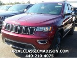 2017 Velvet Red Pearl Jeep Grand Cherokee Limited 4x4 #115924283