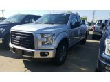 2016 Ingot Silver Ford F150 XL SuperCab 4x4 #115924343
