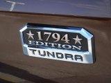 2016 Toyota Tundra 1794 CrewMax 4x4 Marks and Logos