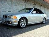 2001 Titanium Silver Metallic BMW 3 Series 330i Convertible #11579058