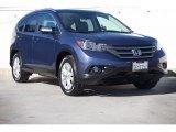 2014 Twilight Blue Metallic Honda CR-V EX-L #115955854