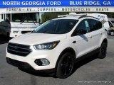 2017 White Platinum Ford Escape SE #115955793