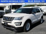 2017 White Platinum Ford Explorer XLT #115955787