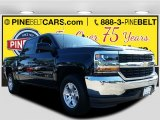 2016 Black Chevrolet Silverado 1500 LT Crew Cab 4x4 #115973526
