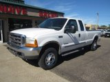 2000 Oxford White Ford F250 Super Duty XLT Extended Cab 4x4 #115973830