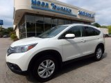 2014 White Diamond Pearl Honda CR-V EX AWD #115973656
