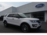 2017 White Platinum Ford Explorer Sport 4WD #115973605