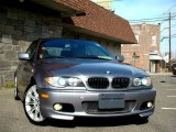 2004 Silver Grey Metallic BMW 3 Series 330i Convertible #11579046
