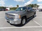2013 Graystone Metallic Chevrolet Silverado 1500 LT Crew Cab #115992413