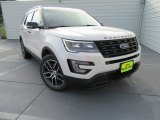 2017 White Platinum Ford Explorer Sport 4WD #115992293