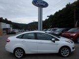 2015 Oxford White Ford Fiesta SE Sedan #115992270