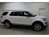 2017 White Platinum Ford Explorer XLT 4WD #115991992