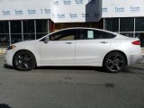 2017 White Platinum Ford Fusion Sport AWD #115992269