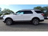 2017 Oxford White Ford Explorer Platinum 4WD #116020875