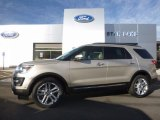 2017 White Gold Ford Explorer Limited 4WD #116021022