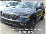 2017 Diamond Black Crystal Pearl Jeep Grand Cherokee Limited 75th Annivesary Edition 4x4 #116020964