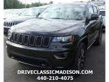 2017 Recon Green Jeep Grand Cherokee Limited 75th Annivesary Edition 4x4 #116020961