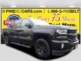 2017 Black Chevrolet Silverado 1500 LTZ Crew Cab 4x4 #116050995