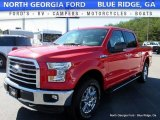 2016 Race Red Ford F150 XLT SuperCrew 4x4 #116050929