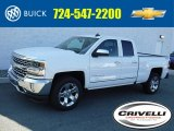 2017 Summit White Chevrolet Silverado 1500 LTZ Double Cab 4x4 #116051215