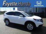 2014 White Diamond Pearl Honda CR-V EX-L AWD #116051273