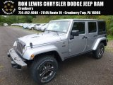 2017 Billet Silver Metallic Jeep Wrangler Unlimited Sahara 4x4 #116076176