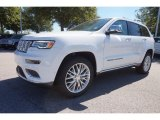 2017 Bright White Jeep Grand Cherokee Summit #116076214