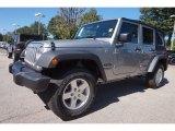 2016 Billet Silver Metallic Jeep Wrangler Unlimited Sport 4x4 #116076195