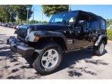2016 Black Jeep Wrangler Unlimited Sport 4x4 #116076194
